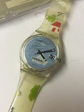 VINTAGE Swatch GENT GK420 Dibujos 2000 New In Box