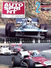 Autosprint 43 1970 52° Salone internazione Automobile TORINO - Lamborghini De To