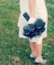 Black Calla Lily Wedding Bouquet // 100% Hand-Made and Customizable