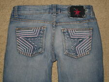 People's Liberation Size 26 Bella Flare Low Rise Stretch Womens Jeans