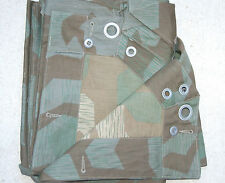 WWII German Splinter Pattern Camo Zeltbahn