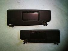 6805 sonnenblenden rechts links schwarz VW Golf 3 komplett