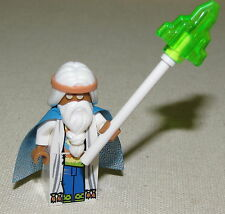 LEGO NEW MOVIE CHARACTER VITRUVIUS WIZARD MINIFIGURE FROM SET 70809
