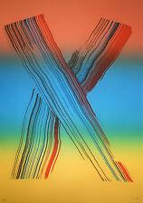 J.M. BROTO Grabado Original Numerado,Firmado. Aguafuerte Color. Iris 2. 100 x 70