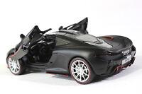 McLaren P1 Diecast MODEL THE sports car 1:32 Sound&Light black toy new