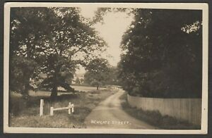 Postcard Newgate Street nr Potters Bar Hertfordshire early RP