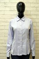 Camicia Donna AQUASCUTUM Taglia Size M Maglia Blusa Shirt Cotone Manica Lunga