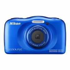 Nikon Coolpix W100 Blue Waterproof Camera