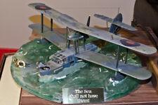 Clear resin diorama base for Airfix or Smer Supermarine Walrus seaplane, 1/48.