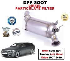 DPF DIESEL PARTICULATE FILTER for BMW 520d E61 Touring Left Hand Drive 2007-2010