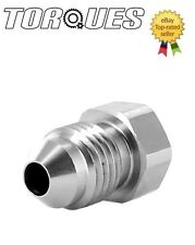 AN -4 (AN4 AN 04) Flare Hex Head Port Plug In Stainless Steel