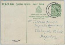 80406 -  POSTAL HISTORY  - CEYLON  -  POSTAL STATIONERY Card  1958