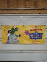 Vintage 1997 Disney Hunchback Happy Meal Toy Banner Sign Display Poster 30x70