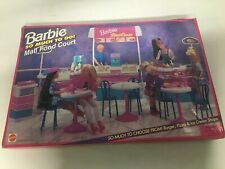 Barbie So Much To Do Mall Food Court Nrfb 67273 1995