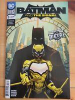 BATMAN and The SIGNAL #3 (of 3) (2018 DC UNIVERSE Comics) ~ VF/NM Book