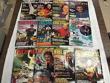 MODERN DRUMMER JAN-DEC 1996 COMPLETE 12 ISSUES