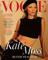 KATE MOSS - VOGUE MAGAZINE UK JANUARY 2021 BRITISH EDITION #2