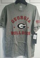 University of Georgia t shirt logo UGA Bulldogs XXL 2XL nwt new red sealed