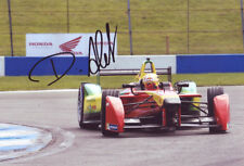 Daniel Abt Signed 8X12 Inches 2015 ABT Formula E Team Photo