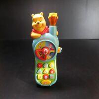 Allô les amis WINNIE ourson VTECH Disney jouet téléphone musical vocal N6054