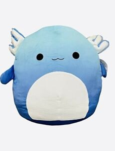 """NWT Miss Vi the blue Axolotl Squishmallow 12"""", Kelly toy plush, Holiday Gift,"""