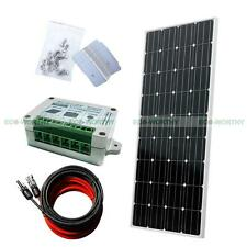 160Watt COMPLETE KIT:160W PV Solar Panel 12V Off Grid System for Home Power