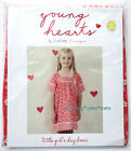 Young Hearts by COLLETTE DINNIGAN Girls Pink - Red Day Dress . Size 4 . NWT