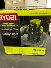 Ryobi Plunge Router 10 Amp 2 HP Corded Spindle Lock Soft Start Variable Speed