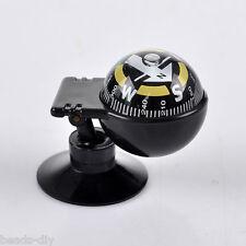BD New HOT! Car Vehicle Floating Ball Magnetic Navigation Compass Black