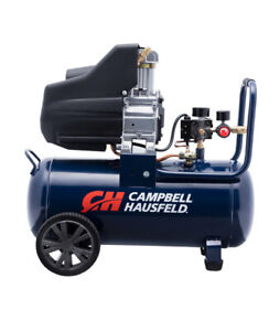 Campbell Hausfeld 8 Gallon Portable Oil Free Air Compressor 125 psi 1.3 hp Used