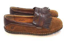 Damen Loafers/Mokassins Halbschuhe ohne Muster