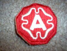 WWII US Army Ninth Army patch cut edge
