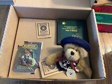 "Boyds Bears Membership Kit — ""Brewin F.o.B.� 2000 - New With teaset"