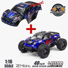 Remo 1/16 Scale Rc Bigfoot Monster Truck 4Wd Car High Speed Off-Road Vehicle