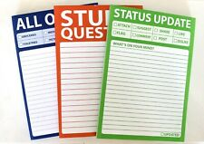 Novelty A6 Notepad To Do List Funny Stationery 3 Designs Home Office New Sealed