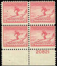 Scott # 716 - 1932 - ' Ski Jumper ' - Plate # 20821