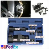 Motorcycle ATV Chain 520/525/530/630 Breaker Cutter Removal Repair Riveting Tool