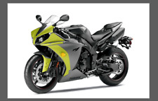 Fit Yamaha YZF R1 13-14 Front Nose CLEAR Stone Chip Paint Protection shield film