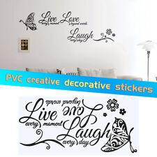 Aerosmith respiración Lyric cita Decoración de pared Arte de Mural Adhesivo Vinilo Calcomanía Dormitorio