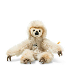 056291 Miguel Baby Dangling Sloth Cream Plush 33cm by Steiff