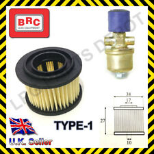 LPG GPL BRC ET98 solenoid gas filter cartridge repair overhaul kit