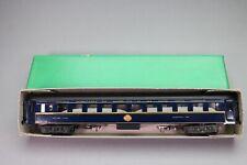 ZA290 Jep Train voiture Ho 6653 wagon lit CIWL metal