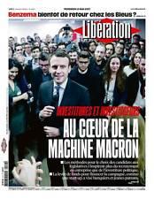 LIBÉRATION n°11187 du 12/5/2017**La machine MACRON**Investitures & investisseurs