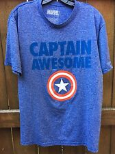 Mens L Avengers Captain America Awesome T Shirt Marvel Active Wear