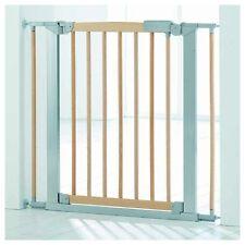 Pressure Fit Safety Gate Avantgarde Indicator naturale/argento Baby Dan