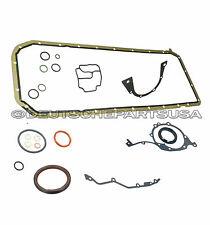 ENGINE LOWER CRANKCASE GASKET SET for BMW E46 E39 E60 Z3 X3 X5 320i 323Ci 323i