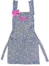 PERSONALIZED Adult Small or Child's Large Cheetah Print Apron