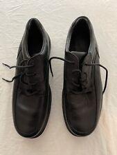 Red Wing Black Leather Slip Resistant Soft Toe Shoe #8636 Sz Men's 13D