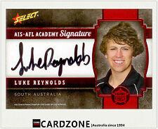 2013 Select AFL Future Force Black Signature Cards FFRS18 Luke Reynolds