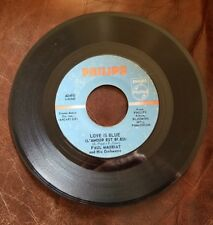 """PAUL MAURIAT AND HIS ORCHESTRA SUNNY / LOVE IS BLUE  7"""" 45 RPM"""